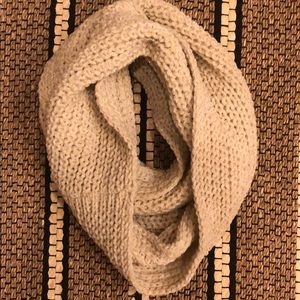 Urban Outfitters Beige Infinity Scarf